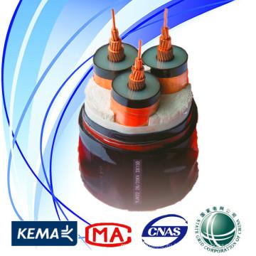 Кабель питания высокого качества 35kV State Grid 3 * 300sqmm