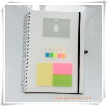 Werbe-Notebook für Werbegeschenk (OI04070)