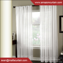 Latest Curtain Designs 2015 Elegant Comfort Solid White Sheer Window Drapes, Panels, Treatment