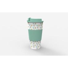 Caneca de café plástica