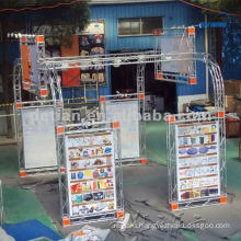 Shanghai custom 20x20 advertising booth space display for display exhibition booth -07