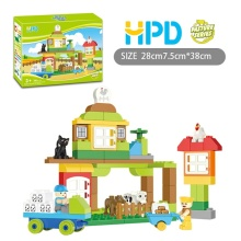 66PCS Plastic Toy Blocks Supermarket Series