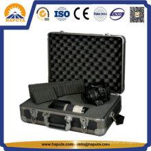Cas en aluminium dur avec de la mousse pour le matériel, caméras (HC-2002)