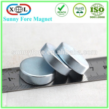 jiangmen top sale zinc coated neodymium magnet