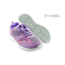 Lace up purple sport shoes 2015