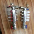 Separador de água de aço inoxidável de 4 maneiras para o sistema de aquecimento de assoalho