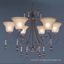 Lámpara con 6 luces, estilo 07