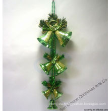 Decorative Plastic Hanging Christmas tree ornament bell