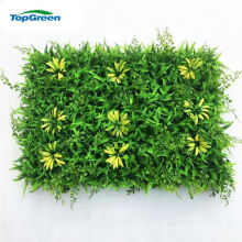 supplier artificial imitate green grass wall mat for decoration