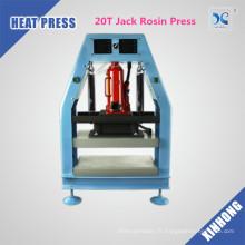 Plaques de chauffage doubles hydrauliques de 12 tonnes Pression de résine de résine Presse de colophane Pneumatique
