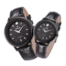 Relojes de moda de lujo caliente de los amantes de los hombres y de las mujeres