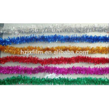 polyester christmas tinsel film