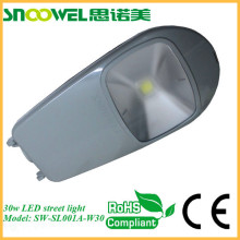 High power menawell driver ip65 solar 30w outdoor led street light