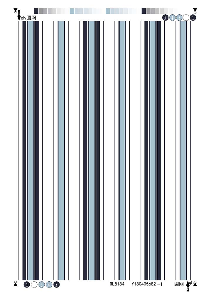 Rayon Poplin fabric 45s Stripe design
