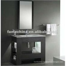 Classic Wood Veneer Bathroom Cabinet
