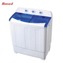 Lavadora de la tina gemela del cargamento superior del hogar de la capacidad de lavado 7.8kg