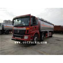 Auman 8 roues 21 CBM Fuel Tanker Trucks