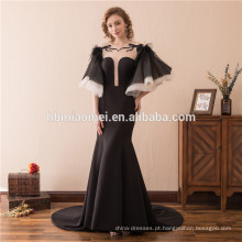 A primavera outono ladies dress plus size sem mangas de seda De Leite maxi vestidos de noite para mulheres gordas