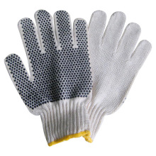 Best Price for for Knitting Wool Gloves Knitted Cotton Working Gloves with Single PVC Dot supply to Israel Suppliers