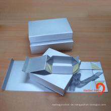 Gefaltete Pappschachtel, Geschenkpapier-Faltschachtel, faltbare Papierschachtel (HBBO-3)