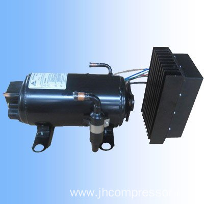 R134a gas horizontal rotary dc 12 24 compressor for solar for Air compressor for pool closing