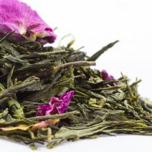 Thé Rose Sencha Tea Saveurs de thé vert