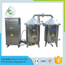 Automatic double water distillation systems
