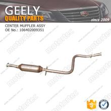 OE GEELY spare Parts center muffler assy 106402009351