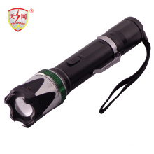 Lanterna de alta tensão Zoomable armas de choque