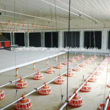 Équipement réglé complet de hangar de contrôle de volaille pour l'éleveur