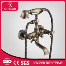 Wall mount water saving dual handle bathtub mixer MK29201