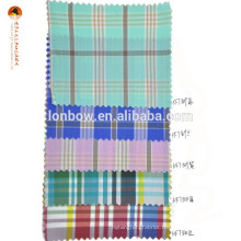 Discount cotton nylon madras fabric supplier