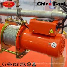 Treuil électrique de grue de fil de câble d'histoire de 18 ans d'OEM mini