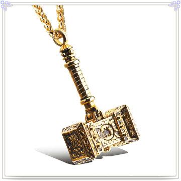 Moda jóias colar de moda pingente de aço inoxidável (nk1014)