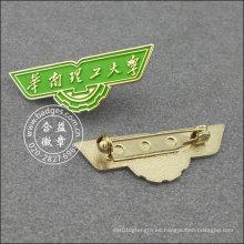 Pin de solapa de la escuela, diseño especial para la Universidad (GZHY-LP-039)