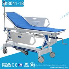 Trole paciente de aço inoxidável de Tranfer de SKB041-1B com quadro do metal