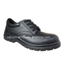 Glänzendes Glattleder Sicherheit Schuhe Low-Cut-Knöchel (HQ10001)