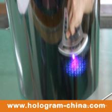 Tamper Evident Papel de aluminio fluorescente UV