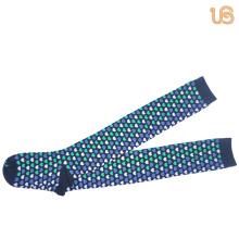 Chaussettes hautes en coton pour femmes