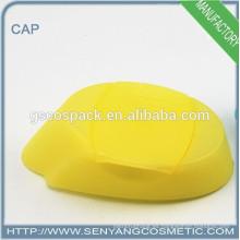 Nuevos casquillos del casquillo de la cabeza del zócalo del diseño envases plásticos tapón del tirón de los envases