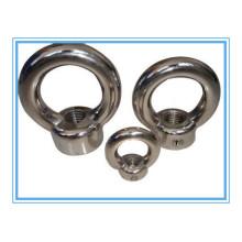 Parafuso de olhal Ss304 / 306 de aço inoxidável (DIN 580)