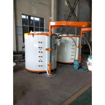 Pit type gas carburizing vacuum furnace
