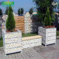 HOT DIPPED GALVANIZED WIELDED WIRE MESH DECO GABION