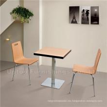 Mobiliario para restaurante de comida rápida Mesas y sillas Kfc (SP-CT505)