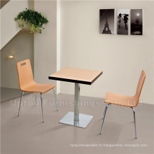 Fast Food Restaurant Furniture Kfc Tables et Chaises (SP-CT505)