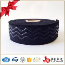 Bottom Preis meistverkaufte benutzerdefinierte elastische Schuhband Gurtband Anti-Rutsch-Gummiband