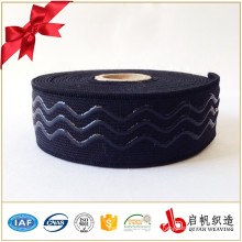 Bottom price best selling custom elastic shoe strap webbing anti slip elastic band