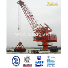 Single Boom Fix Portal Marine Crane