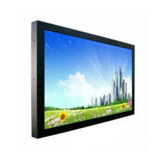 65-inch real 4K resolution 3840x2160 CCTV LCD monitor, with HDMI, DVI, VGA, DP ports