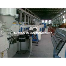 Línea de producción de extrusión de tubos de plástico PPR